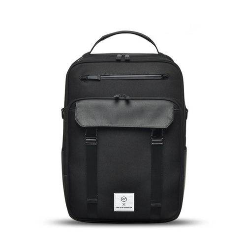 VIAMONOH NEW-ROPE BACKPACK (BLACK)