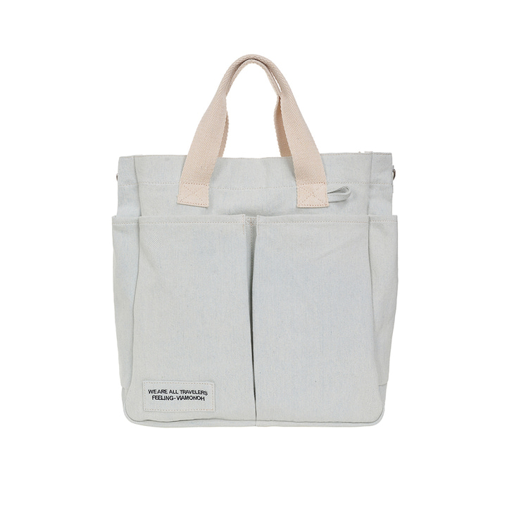 VIAMONOH DAILY TUMBLER BAG (DENIM)