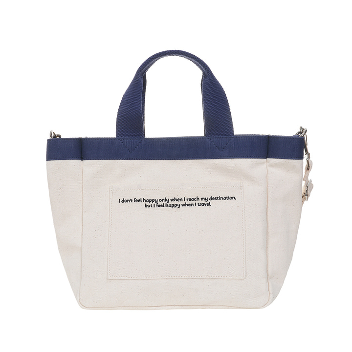 VIAMONOH DAILY MINI TOTE CANVAS BAG (IVORY)